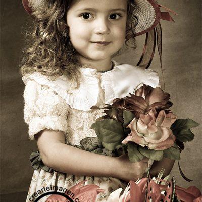 fotografía  infantil epoca