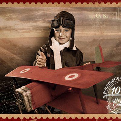 fotografía infantil piloto crearte imagen