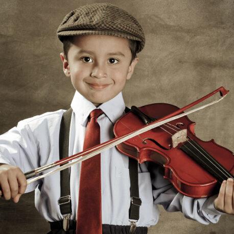 fotografía infantil violinista 01