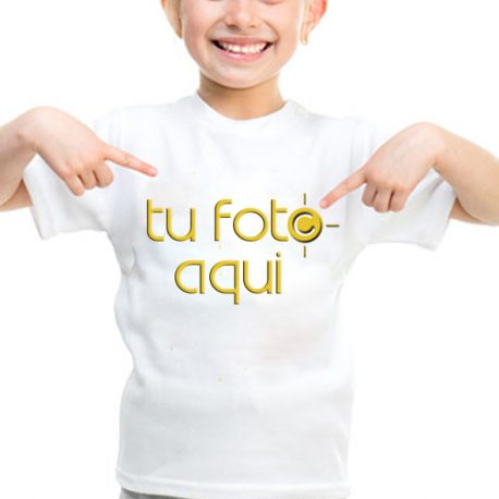 Camiseta para niño tu foto