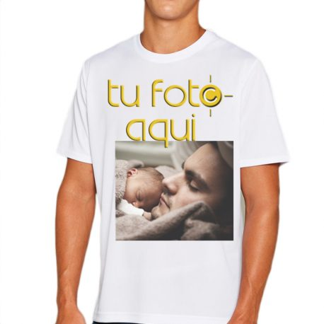 camiseta hombre tu foto