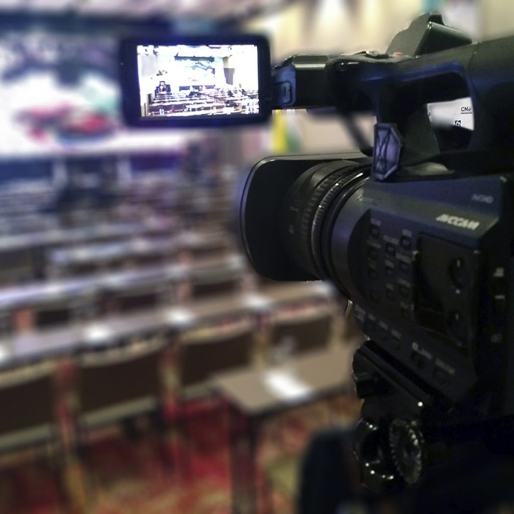 streaming y vídeo conferencias