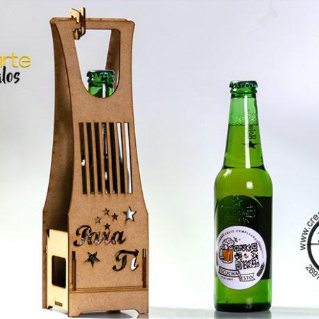 cerveza en caja a