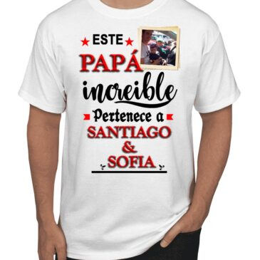 Camiseta Personalizada  Papá