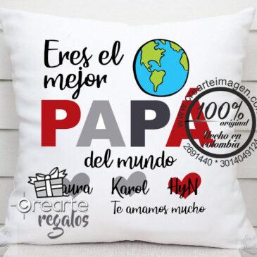 Cojín Personalizado Papa 30×30 cm