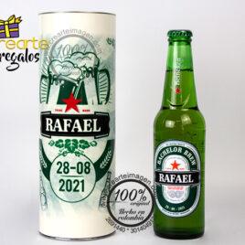 Cerveza Personalizada +Empaque Personalizado